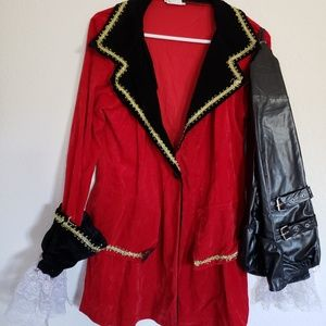Woman Pirate Costume jacket